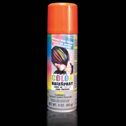 Orange Colored Hair Spray