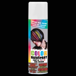 White Colored Hair Spray