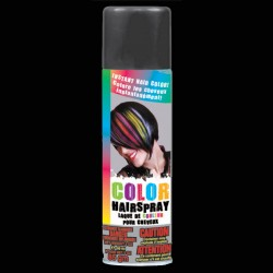 Black Colored Hair Spray