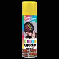 Yellow Colored Hair Spray