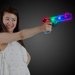 Blue/Red LED Pixel Gun