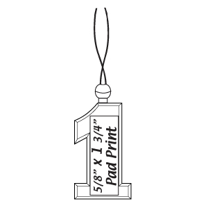 #1 pendant