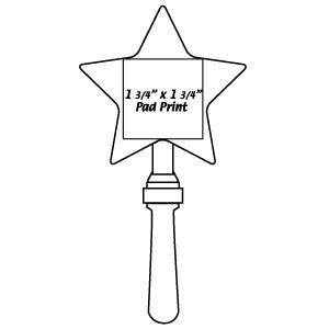 MUS15 Star Clapper